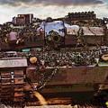 Leopard 2 Battle Tank by Herb Paynter