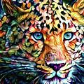 Leopard Cat Flowers by Yury Malkov