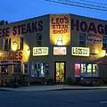 Leo's Steak Shop by David Nicholson
