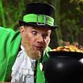 Leprechaun With Pot Of Gold by Oleksiy Maksymenko