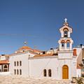 Lerapetra Church Square Pano by Antony McAulay