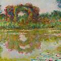Les Arceaux De Roses. Giverny by Claude Monet