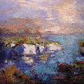 Les Calanques In Bright Light IIi by R W Goetting