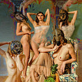 Les Demoiselles 4 by Mike Penney