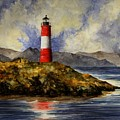 Les Eclaireurs Lighthouse by Michael Vigliotti