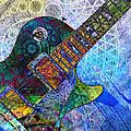 Les Paul Guitar 4 by Kiki Art
