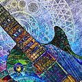 Les Paul Guitar 6  by Kiki Art