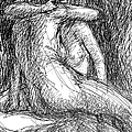 Lesbian Sketches  1 by Gordon Punt