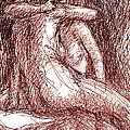 Lesbian Sketches 1b by Gordon Punt