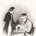 L'escompte D'un Billet by Honor? Daumier