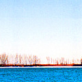 Leslie Spit From Cherry Beach 33 Dbae by Lyle Crump