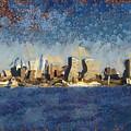 Less Wacky Philly Skyline by Trish Tritz