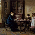 Lessons by Helen Allingham