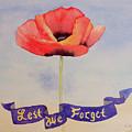 Lest We Forget by Laurel Best