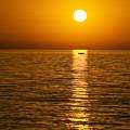 Lesvos Sunset by Meirion Matthias