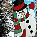 Let It Snow - Happy Holidays by Carol F Austin
