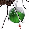 Let It Snow Christmas Ornament by Debbie Oppermann