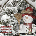 Let It Snow Let It Snow Let It Snow by Terri Waters