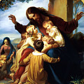 Let The Children Come To Me by Carl Vogel von Vogelstein
