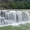 Letchworth Falls Sp Lower Falls by Dean Hueber