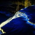 Letchworth Middle Falls After Dark by Chris Bordeleau