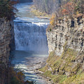 Letchworth Middle Falls by William Norton