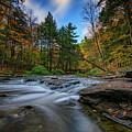 Letchworth's Wolf Creek  by Rick Berk