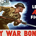 Let's All Fight Buy War Bonds by War Is Hell Store