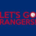 Let's Go Rangers by Florian Rodarte