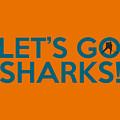 Let's Go Sharks by Florian Rodarte