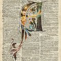 Letter A Monogram by Anna W