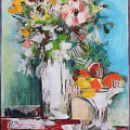 Letter Bouquet by Luz Graphic Studio
