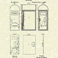 Letter Box 1887 Patent Art by Prior Art Design