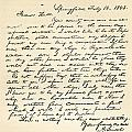 Letter From Abraham Lincoln To Alden by Vintage Design Pics