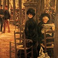 Letter L With Hats Jacques Joseph Tissot by Eloisa Mannion