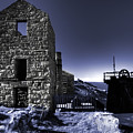 Levant Mine In Blue by Rob Hawkins