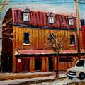 Levine Brothers Plumbers Montreal by Carole Spandau