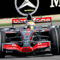 Lewis Hamilton, Mclaren- Mercedes Mp4-22 by James Hervat