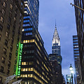 Lexington Avenue, Chrysler Building, New York  by Juergen Held