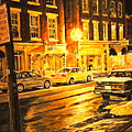 Lexington Street Light by Thomas Akers