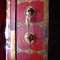Lhasa Temple Door by Michael Morrissey