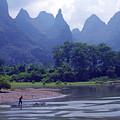 Li River - 196 by Rick Shea