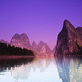 Li River Near Yangshuo by Gloria & Richard Maschmeyer - Printscapes