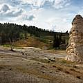 Liberty Cap - Yellowstone by Belinda Greb