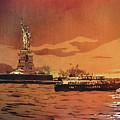 Liberty Island- New York by Ryan Fox