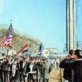 Liberty Memorial Kc Veterans Day 2001 by Carolyn Coffey Wallace