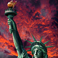 Liberty On Fire by Daniel Hagerman