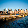 Liberty State Park Pier by Valerie Morrison
