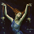 Libra From Zodiac Series by Dorina  Costras