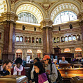Library Of Congress, Main Reading Room, Jefferson Building - 2 by Riccardo Forte